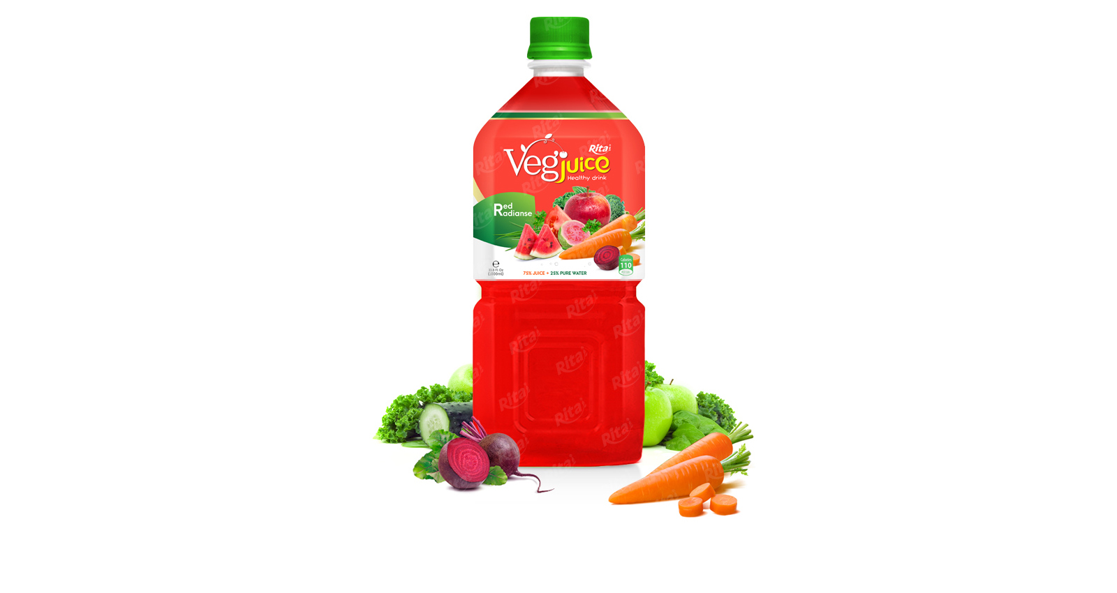 Rita vegetable radianse 1000ml pet bottle