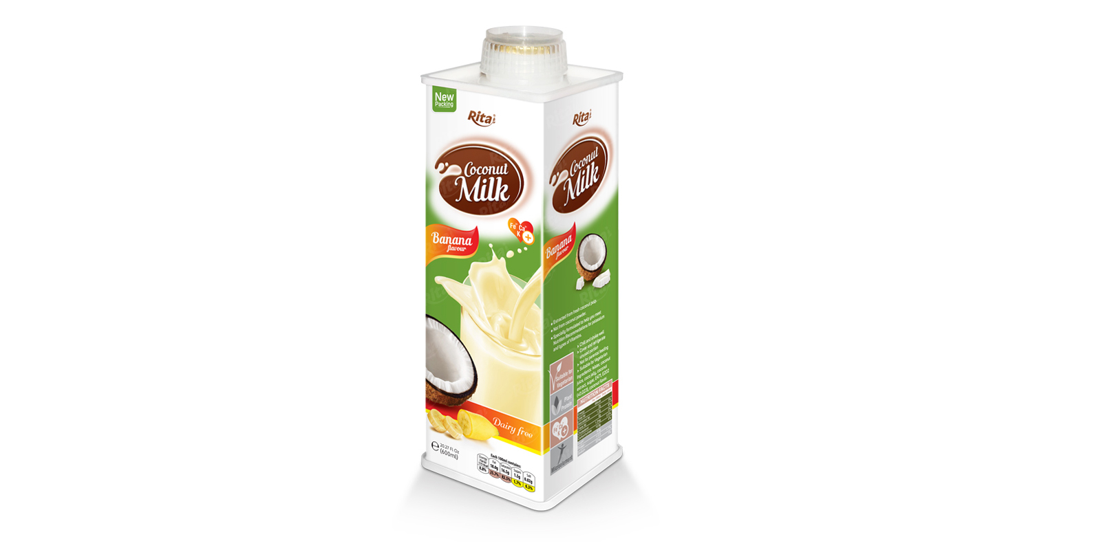 Coconut milk banana 600ml