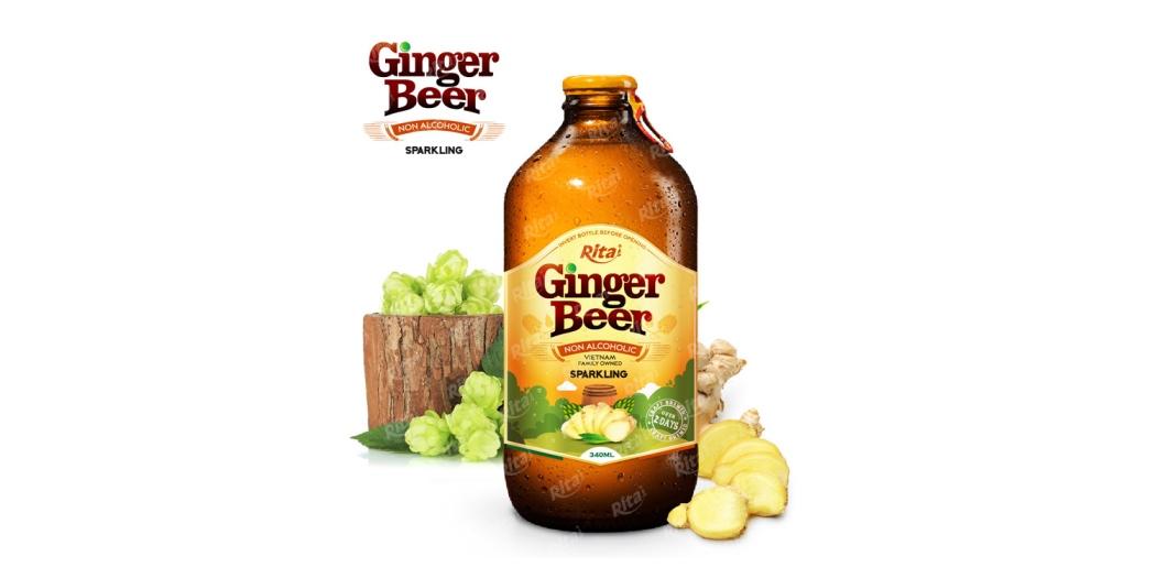 Ginger Beer 340ml glass bottle