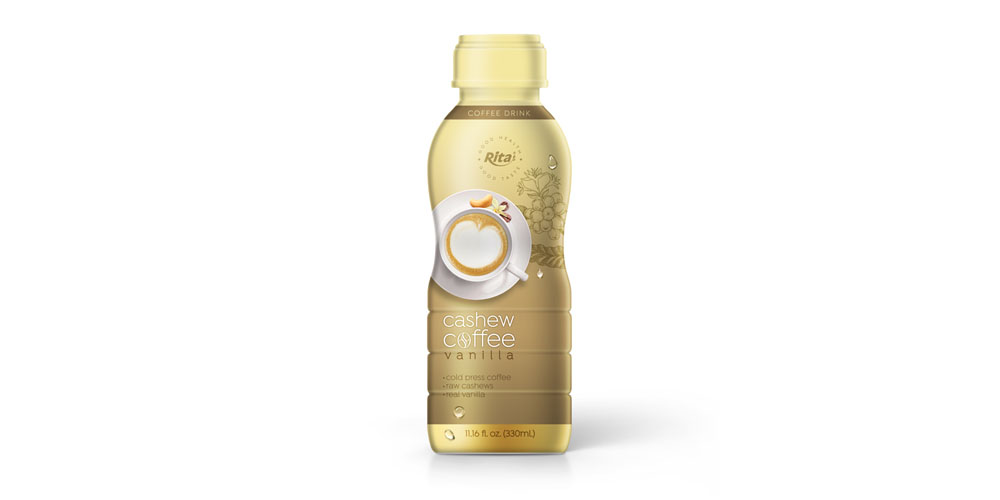 Cashew Coffee vanilla in 330ml PP Bottle from RITA US
