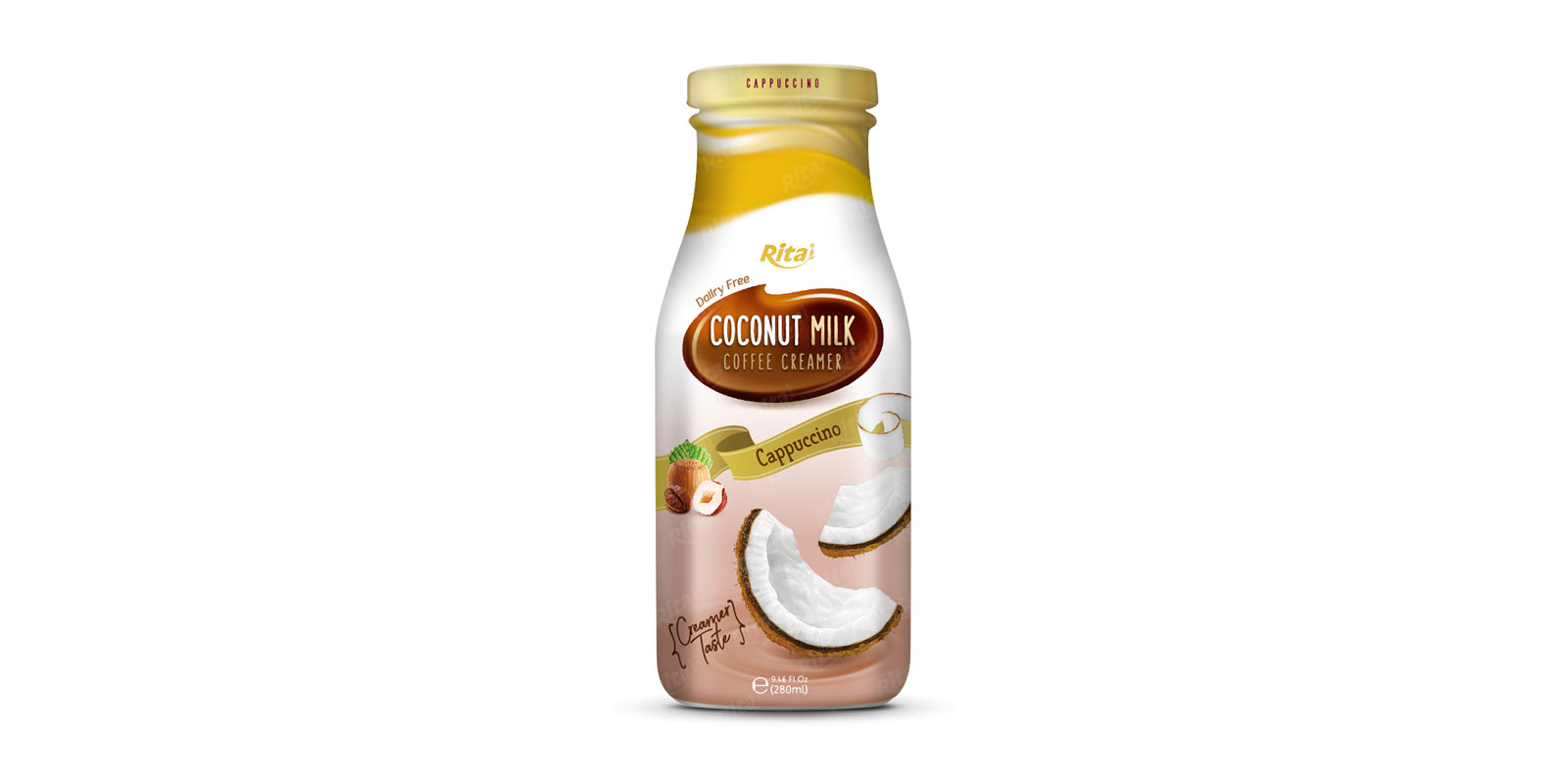 Coconut milk with Coffee Cream cappuccino 280ml from RITA US