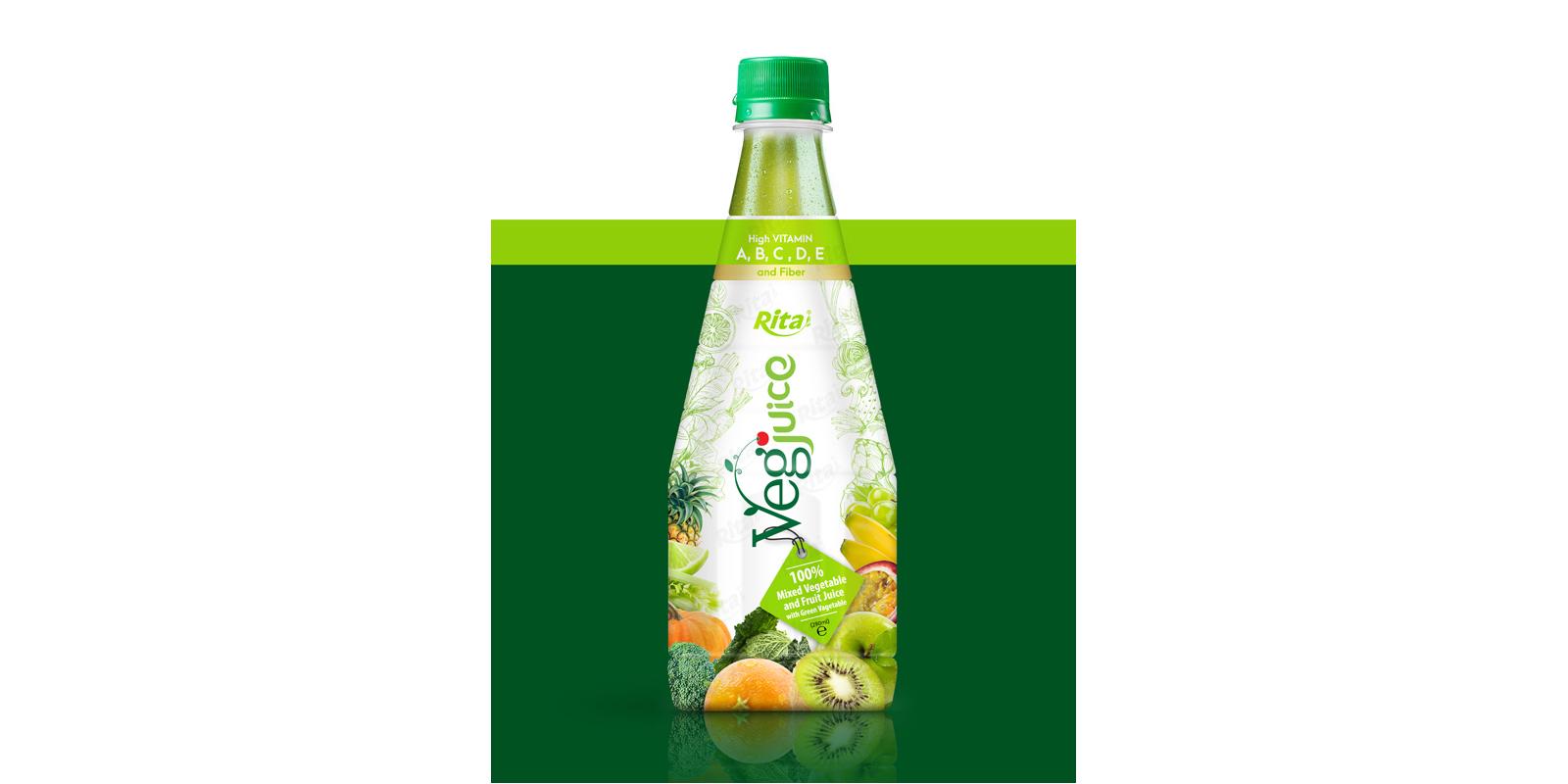 juice shop design Vegjuice in Pet 290ml