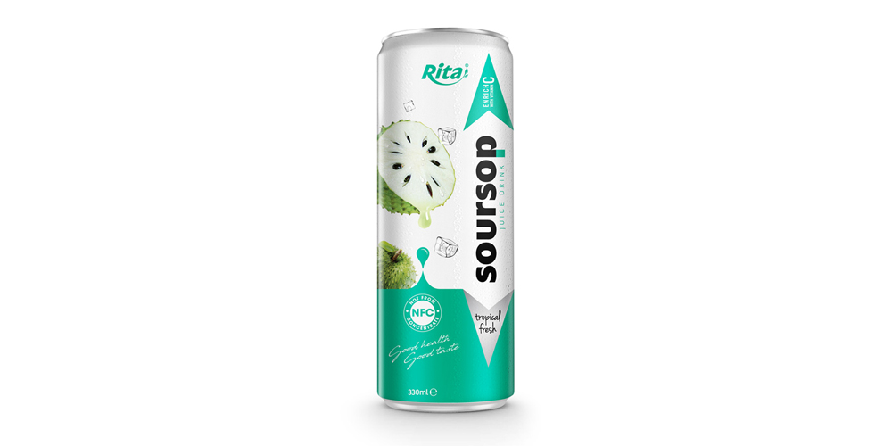 private label fresh Fruit soursop  330ml from RITA US