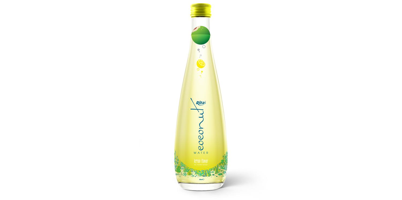 Coconut water with lemon glass bottle 300ml