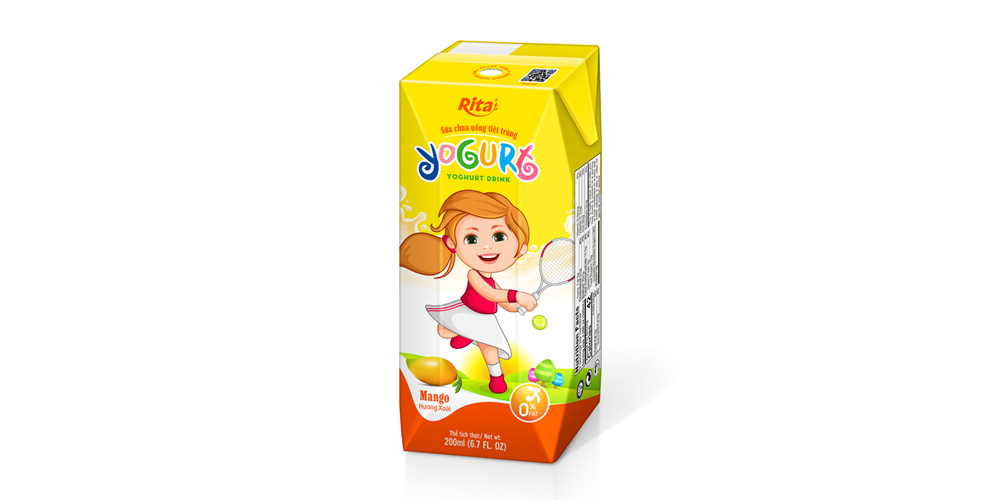 Yogurt kids 200ml mango juice