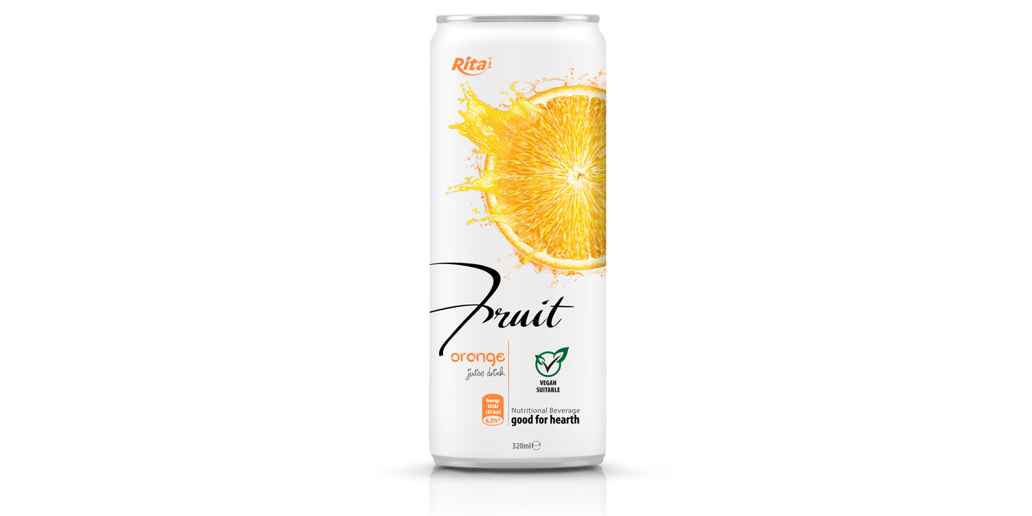 fruit orange 320ml nutritional beverage good for hearth from RITA US