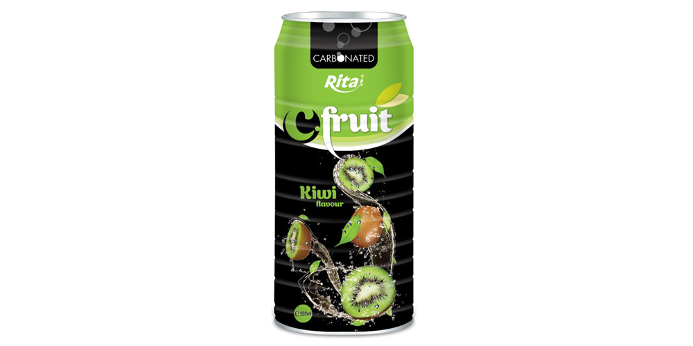 960ml kiwi juice carbonated from RITA US