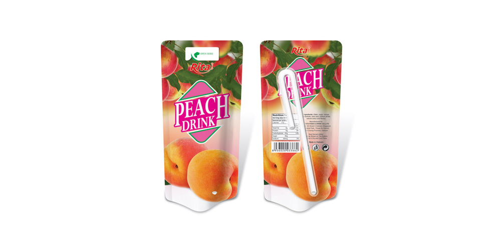 wholesale Bag peach juice