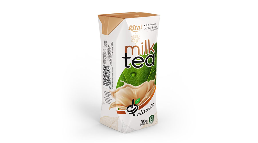 Green Tea milk drink  200ml