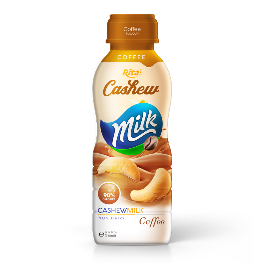 Suppliers Cashew milk coffee 330ml PP Bottle