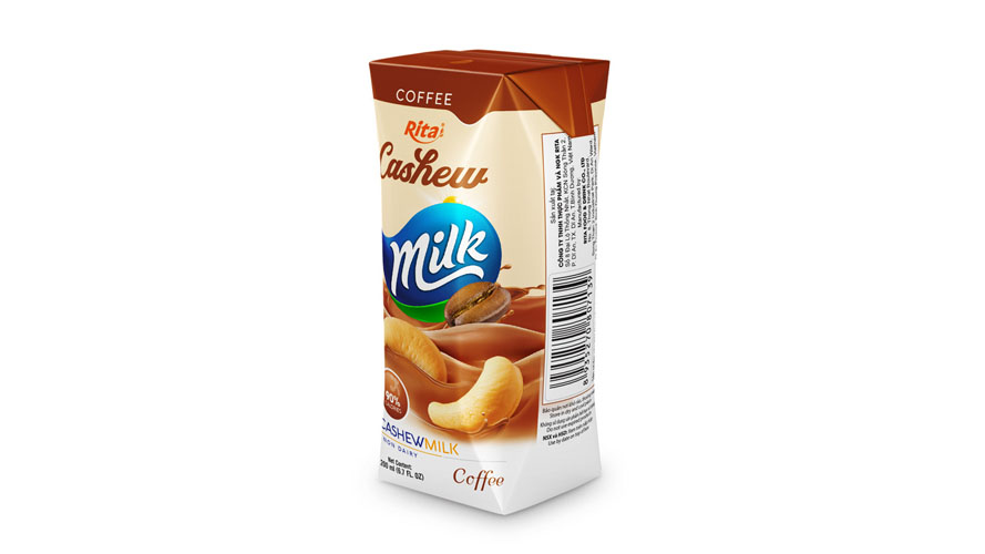 Good taste cashew milk coffee 200ml box paper