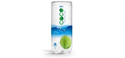 Pure sparking coconut water 250ml Pet Can from RITA beverage