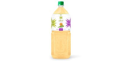 Aloe vera with passion fruit  juice 2000ml Pet Bottle from RITA beverage