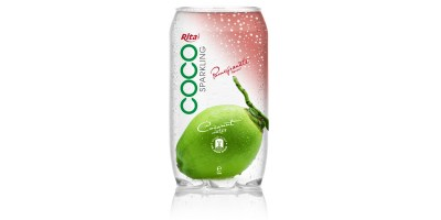 350ml Pet bottle  Sparking coconut water  with pomegranate  juice from RITA beverage
