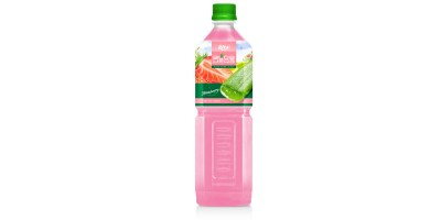 Aloe vera with strawberry flavor 1000ml from RITA