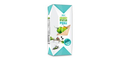 Paper box 200ml Coconut water from RITA US