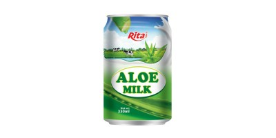 Good aloe vera juice with milk from RITA US
