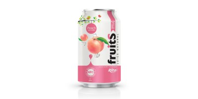 Peach juice 330ml fruit drinks brands from RITA US
