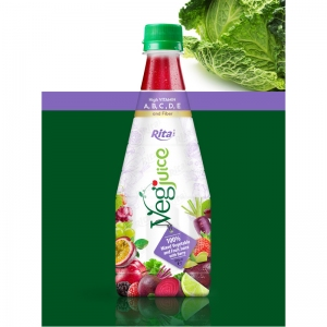 list of vegetables and fruits  in Pet 290ml