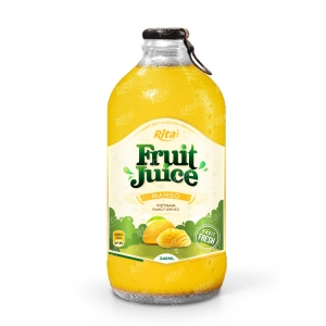 Mango fruit juice 340ml glass bottle