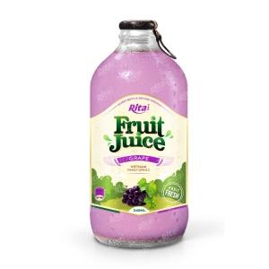 grape fruit juice 340ml glass bottle