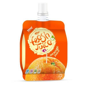 Bag orange juice 100ml