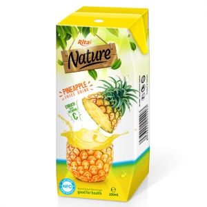 Fresh pineapple Aseptic 200ml