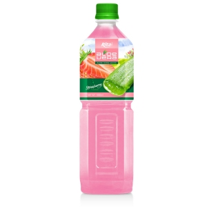 Aloe vera with strawberry flavor 1000ml