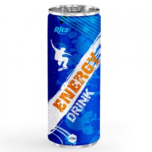 Energy drink 250ml aluminum canned  7