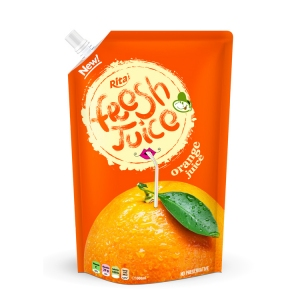 Bag orange juice 500ml
