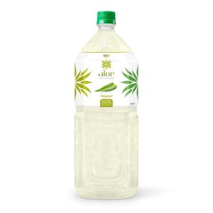 Natural aloe vera  2000ml Pet bottle