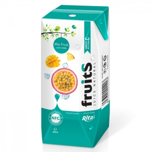 Mix fruit juice Aseptic 200ml