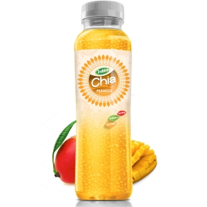 350ml Chia Seed Mango Flavour Pet bottle