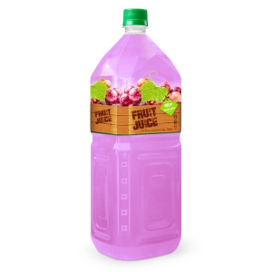 tropical fruit drinks grape 2L pet