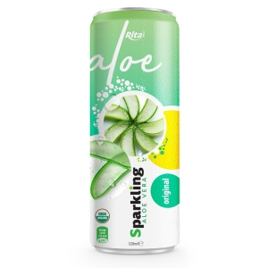 private label brand Sparkling  aloe vera  oringinal 320ml