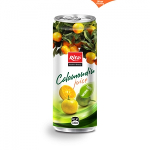 330ml Slim can Calamondin Juice