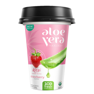 aloe vera with flavor strawberry