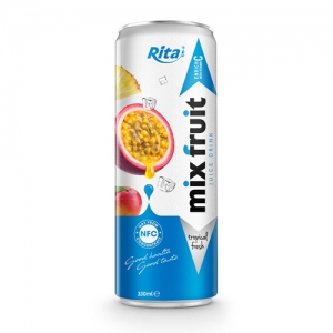 beverage manufacturing Mix Fruit 330ml