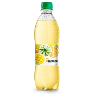 Beverage wholesale Sparkling  aloe vera  mango 500ml
