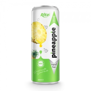 private label fresh  Fruit pineapple 330ml