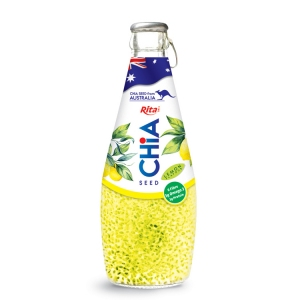 chia seed with lemon